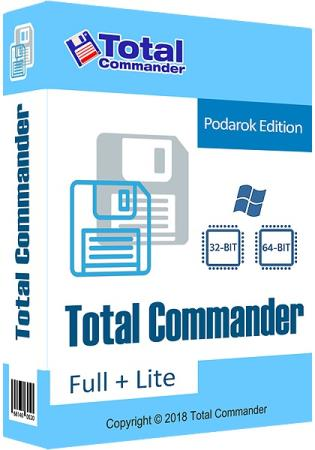 Total Commander 9.22a Podarok Edition + Lite Full Crack 2020 Free