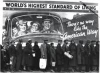 contraste consumismo e desemprego