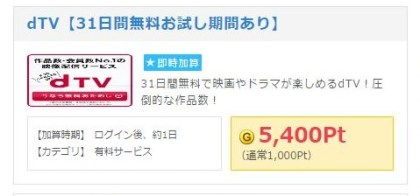 Getmoney会員登録手順03DTV広告