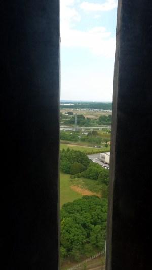 西の窓眺め