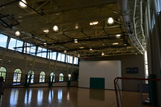 Let's move: Wilson HS' athletic facilities include this multipurpose gym as well as 3 other facilities on campus.