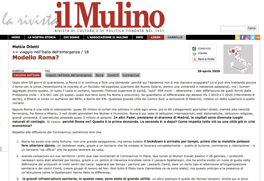 Modello Roma? di Mattia Diletti
