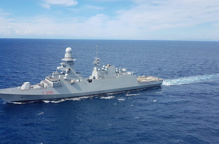 nave italiana tutela Zee Mediterraneo