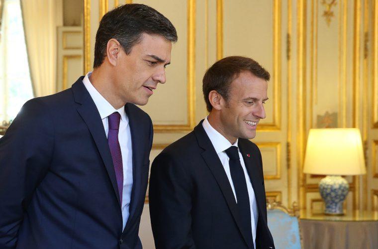 Sanchez Macron Francia Spagna Catalogna