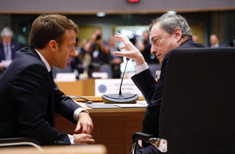 Draghi Macron Italia sfida Francia frnacese francese