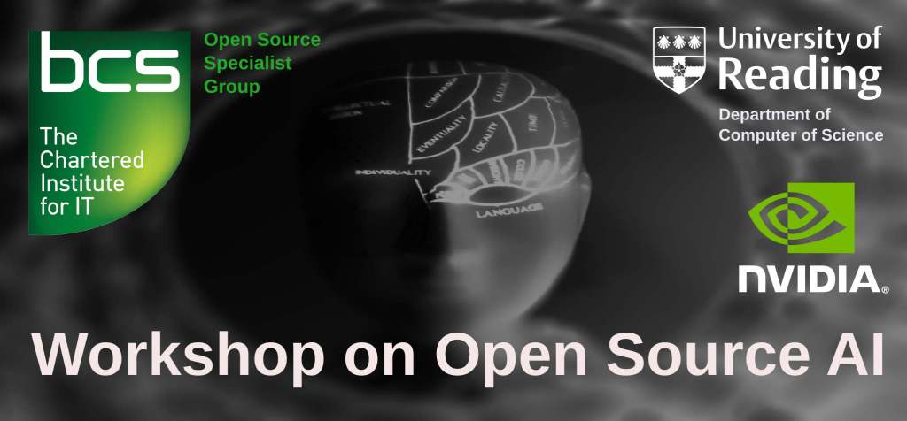 Open Source AI - April 2019 @ University of Reading