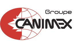 Groupe Canimex logo 2016-2017 version en blanc