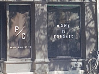 Peace Collective Ossington storefront