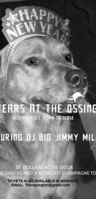 New Years Eve The Ossington