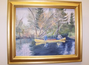 Canoe on the Pine