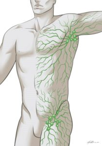 Green Lymph Man