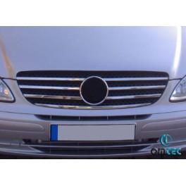 Ornamente inox grila radiator Mercedes Vito 2004-2010 W639