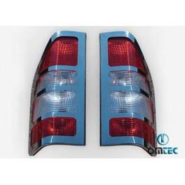 Ornamente inox lampa spate Mercedes Sprinter 1995-2006 W901