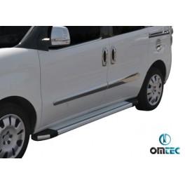 Ornamente inox bandouri laterale Fiat Doblo 2014+ Facelift