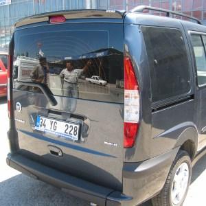 Eleron-spoiler spate Fiat Doblo 2003-2009