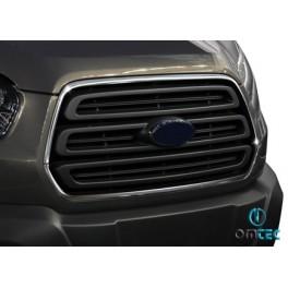 Ornamente inox contur grila radiator Ford Transit 2013+