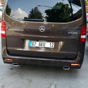 Eleron-spoiler spate Mercedes Vito 2004-2014