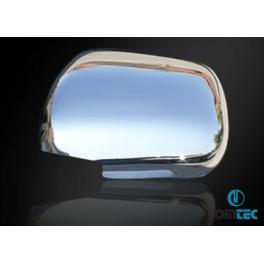 Capace oglinzi inox Toyota Land Cruiser Prado 120 2003-2009