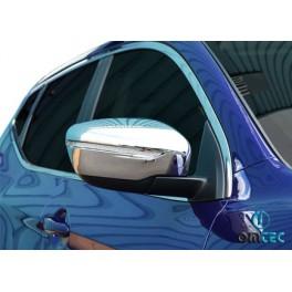 Capace oglinzi cromate Nissan Qashqai 2014+