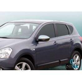 Capace oglinzi inox Nissan Qashqai 2007-2010