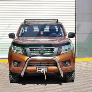 Bullbar bara protectie fata inox Nissan Navara 2015+