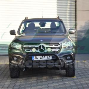 Bullbar fata Mercedes X-CLASS cod WT022 Dinamic Black