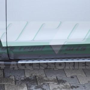 Praguri laterale aluminiu Nissan Qashqai 2014+ cod HT001 Kure
