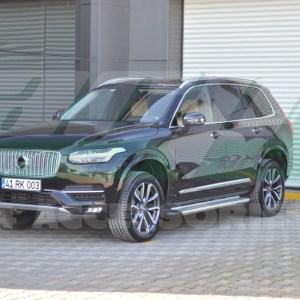 Praguri laterale aluminiu Volvo XC90 2016+ cod AB012 Pegas Chrome