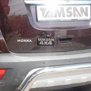Bara protectie spate inox Opel Mokka-2012-2014 cod AK007 Moon