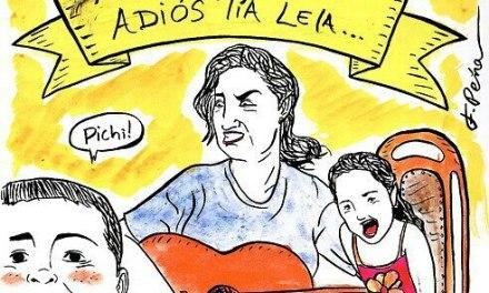 """""""Adíos tía Paty, Adíos tía Lela"""" ya es un himno!"""