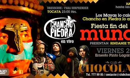 "Chancho en Piedra: ""RINDANSE TERRICOLAS"" en vivo!"