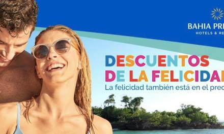 DESCUENTOS DE LA FELICIDAD: BAHIA PRINCIPE OFRECE HASTA 55% DE DESCUENTO EN ESTADÍAS HASTA ENERO DE 2021