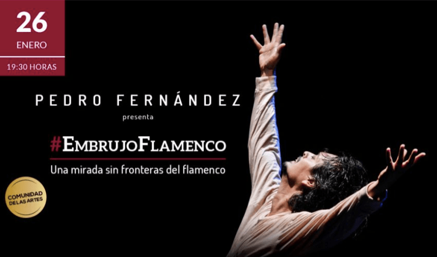 Bailaor Pedro Fernández regresa a Chile con #Embrujoflamenco