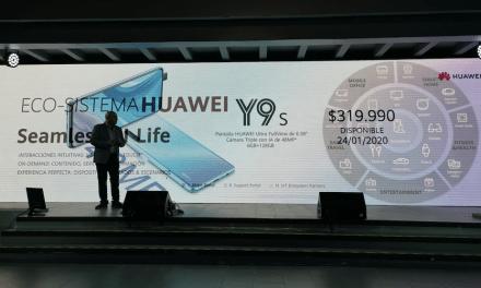 Sociales: Espectacular lanzamiento del Y9S de Huawei Chile