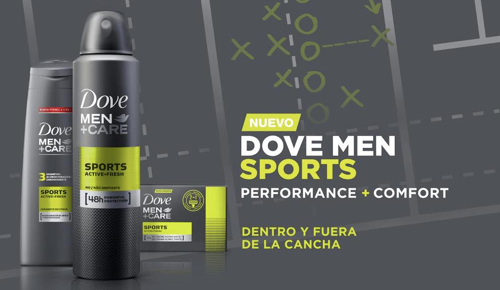 Nuevo Antitranspirante Dove Men+Care Sport diseñado para los amantes del deporte