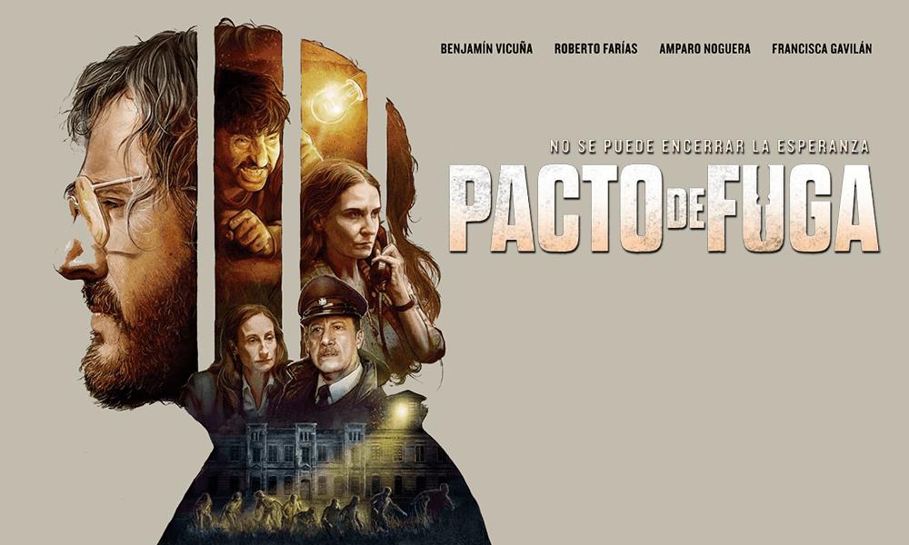 """Pacto de Fuga"" se abre camino internacional con miras a ser opción por Chile a los Premios Oscar"