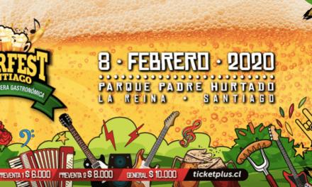 Bierfest Santiago se prepara para el 8 de febrero con más de 30 marcas de cerveza, bandas de rock y variados foodtrucks