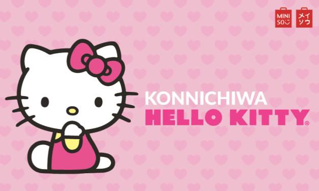 Hello Kitty llega a Miniso