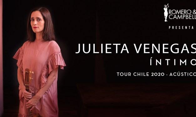 Julieta Venegas Tour Acústico – Chile 2020: «QUIENES ESTAMOS CAMBIANDO SOMOS LAS MUJERES, NO EL MUNDO»