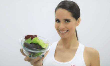 Figurella comparte consejos para mantener una buena nutrición y ejercicios prácticos que puedes hacer desde casa