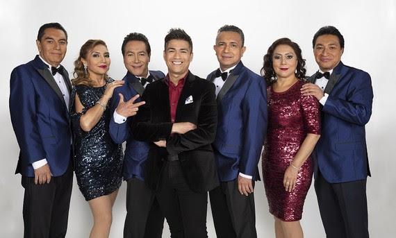 """LOS ÁNGELES AZULES  Presentan """"20 rosas""""  Feat. Américo y Jay de la Cueva"""