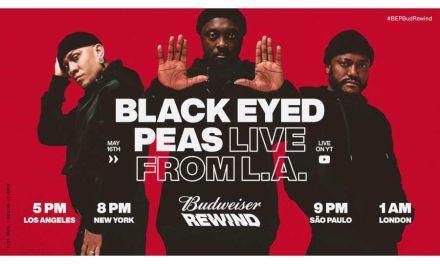 Budweiser Rewind se estrena este Sábado con concierto vía streaming de la icónica banda Black Eyed Peas