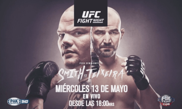 UFC Fight Night: Smith vs Teixeira en VIVO por FOX Sports Premium