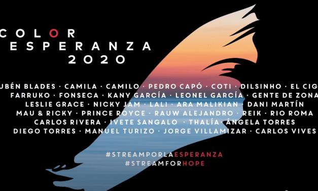 """Sony Music Latin Y Global Citizen Reúnen A Varias Estrellas De La Música Latina Para Estrenar Una Nueva Versión De """"Color Esperanza"""""""