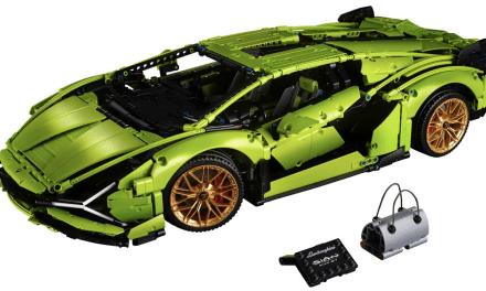 LEGO® lanza el nuevo modelo Lamborghini Sián FKP 37 de LEGO® Technic™