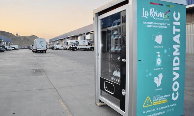 IVI implementa en Chile las COVIDMATIC, las primeras máquinas dispensadoras de productos sanitarios