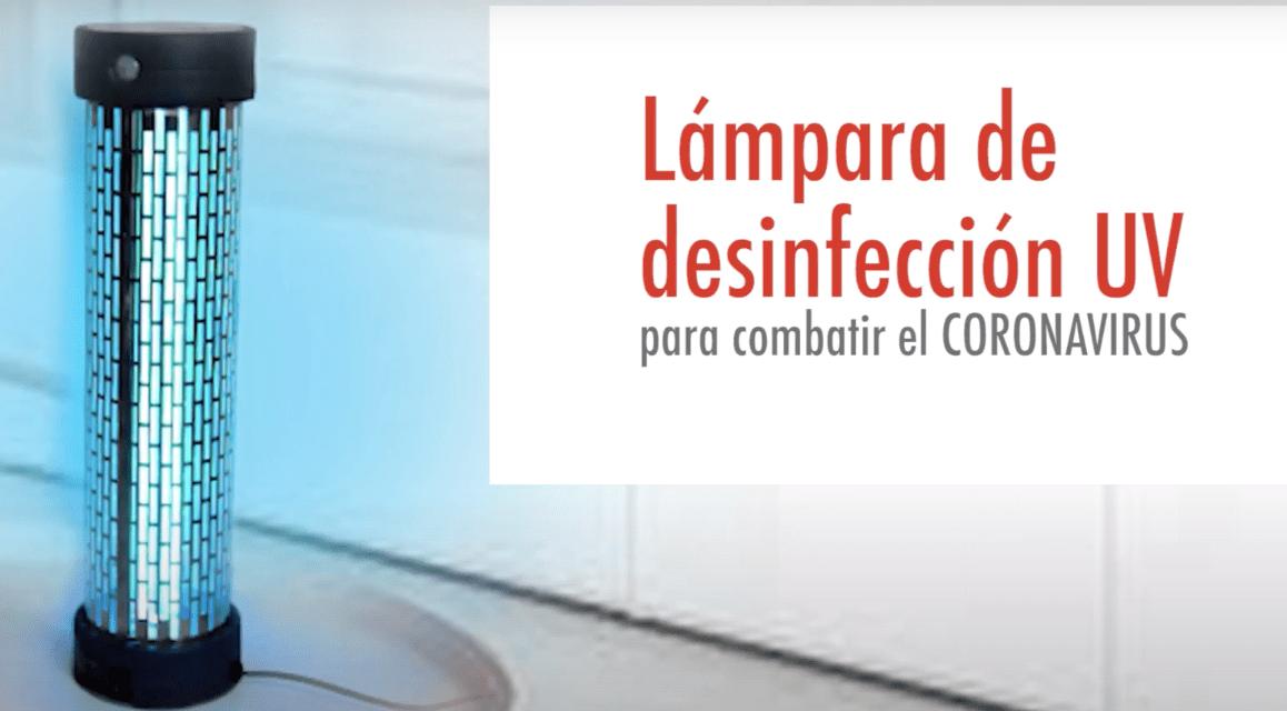 LLEGA A CHILE LÁMPARA DE DESINFECCIÓN UV PARA COMBATIR AL COVID-19
