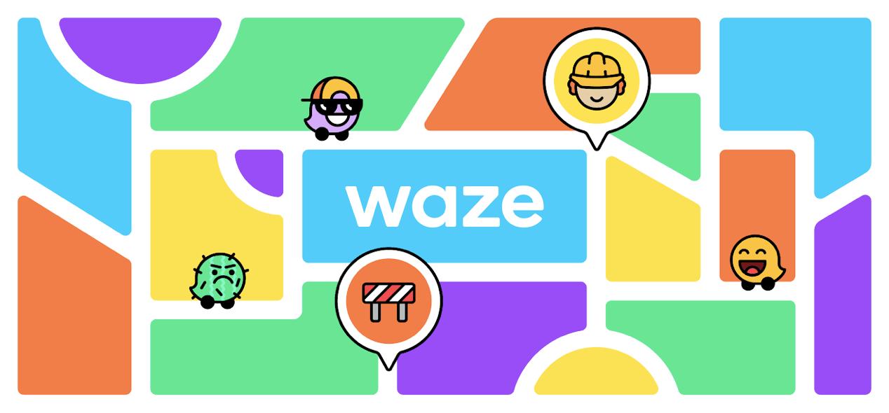 Waze renueva su identidad: Estados de ánimo y colores en la ruta son algunas de sus actualizaciones