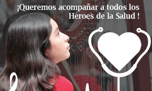 """""""Músicos Solidarios de FOJI"""": Lanzan inédita campaña musical para apoyar a personal de la salud en hospitales y residencias sanitarias"""