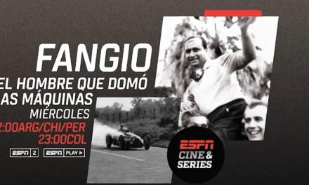 ESPN ESTRENARÁ ''FANGIO, LA SERIE''